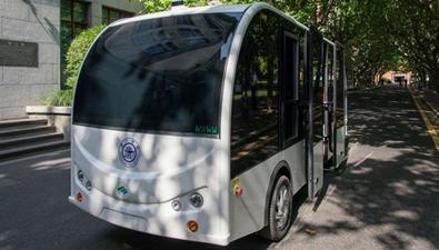 中国智造:无人驾驶小巴来了